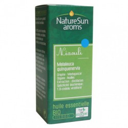 Naturesun aroms Huile essentielle Niaouli 10 ml les copines bio