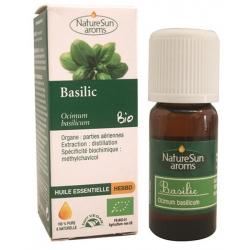 Naturesun aroms huile essentielle de basilic 10 ml les copines bio