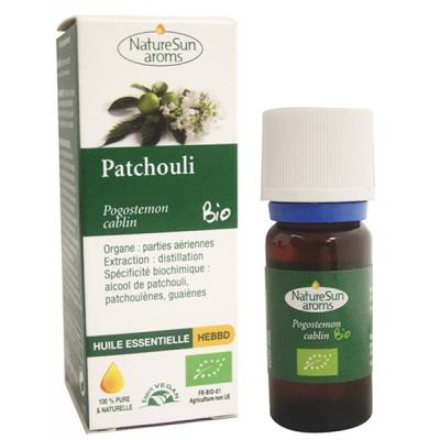 Naturesun aroms Huile essentielle Patchouli 10 ml les copines bio