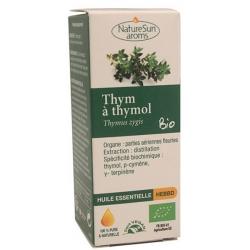 Naturesun aroms Huile essentielle Thym Thymol 10 ml les copines bio