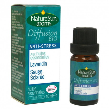 Naturesun aroms Diffusion anti-stress 10 ml les copines bio