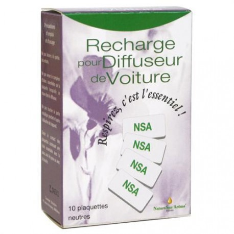 NatureSun aroms Recharges (X10) Diffuseur Huile essentielle les copines bio