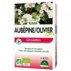 Biotechnie Aubépine Olivier Circulation 20 ampoules de 10ml les copines bio