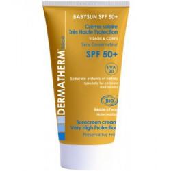 Dermatherm Crème Solaire BabySun SPF 50+ 50ml les copines bio
