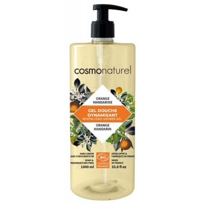 Cosmo naturel Bain douche fruité Mandarine Orange - 1 l les copines bio