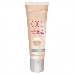 Santé CC Crème 6 en 1 n°20 Natural 30ml maquillage bio les copines bio