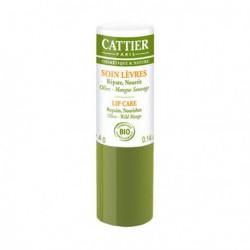Cattier soin des lèvres réparateur et ultra nourrissant Olive Mangue 4gr copines bio