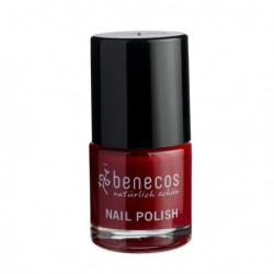 Benecos Vernis à ongles Cherry Red 9ml maquillage vegan les copines bio