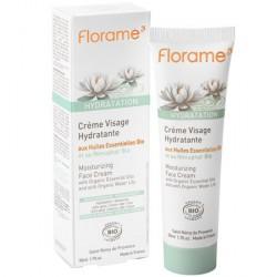 Florame Crème visage hydratante 50ml soin nourrissant les copines bio