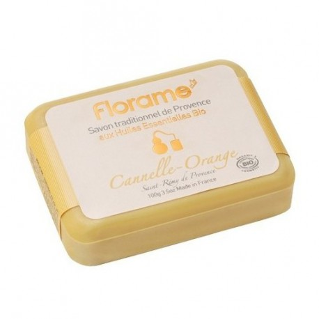 Florame Savon traditionnel de Provence Cannelle-Orange 100gr les copines bio