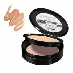 Lavera Fond de teint compact 2 en 1 Honey 10gr maquillage bio