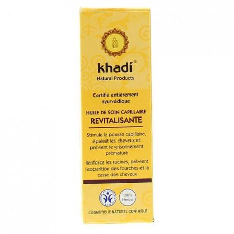 khadi huile de soin capillaire revitalisante 100ml soin capillaire. Black Bedroom Furniture Sets. Home Design Ideas