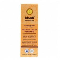 Khadi Huile de Soin Capillaire Purifiante 100ml soin capillaire les copines bio