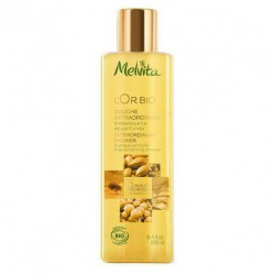 Melvita douche extraordinaire l'or bio 250ml gel douche bio les copines bio