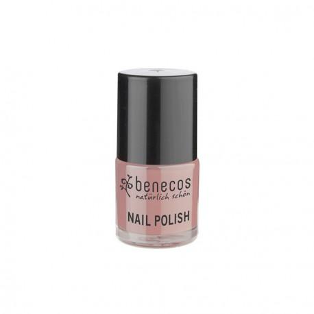 Benecos Vernis à ongles Rose Nacré 9ml maquillage bio les copines