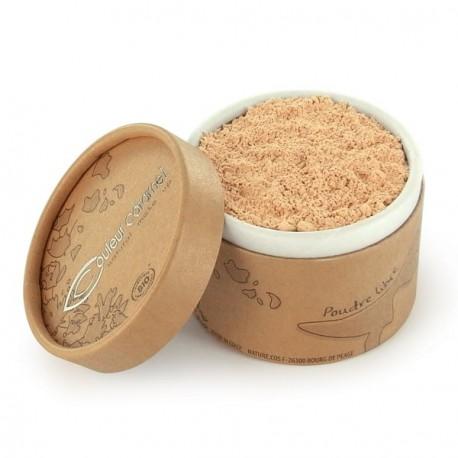 Couleur Caramel poudre libre n°02 beige clair 13gr maquillage bio les copines