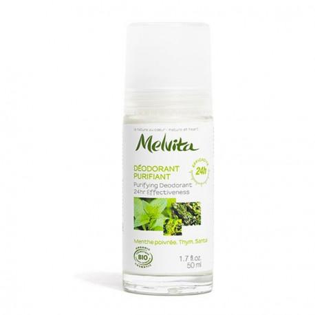 Melvita déodorant purifiant efficacité 24H déo bio les copines bio