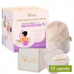 Kit Eco belle bois biface coton bio les tendances d'Emma