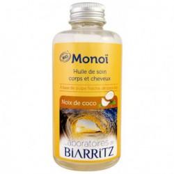 Laboratoires de Biarritz Monoï Noix de coco 100ml les copines bio