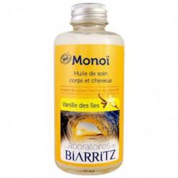 Laboratoires de Biarritz Monoï Vanille des îles 100ml les copines bio