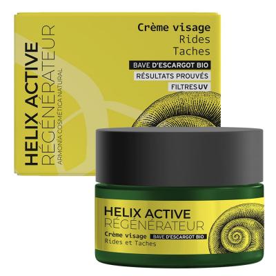 Armonia Crème de jour régénérante à la bave d'escargot bio 50 ml