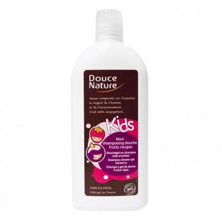 Douce Nature Shampoing Douche Fruits Rouges Kids 300ml les copines bio