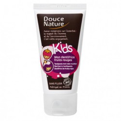 Douce nature Mon Dentifrice Fruits rouges Kids 50ml dentifrice bio