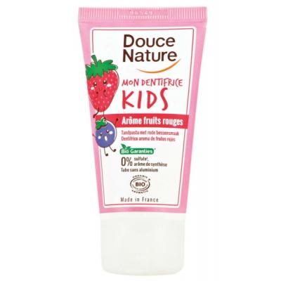 Douce nature Mon Dentifrice Fruits rouges Kids 50ml dentifrice bio