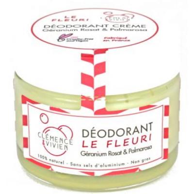 Clémence et Vivien Baume déodorant Le Fleuri 50 g les copines bio