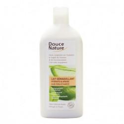 Douce nature Lait démaquillant hydratant aloe vera 300ml maquillage bio