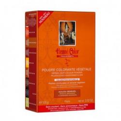 Henné Color Poudre colorante végétale Acajou Sensuel 100 g coloration