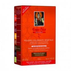 henné Color Poudre colorante végétale Brun Voluptueux 100 g coloration capillaire