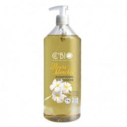 C'Bio Shampooing Douche Fleurs blanches 1L hygiène bio les copines bio