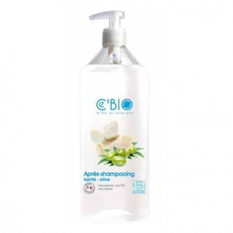 Ce'bio Après-shampooing Karité et Olive 500 ml les copines bio