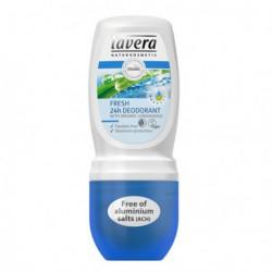Lavera Déodorant roll-on Fresh 50 ml déodorant bio les copines bio