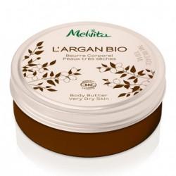 Melvita Beurre corporel huile d''Argan Bio 100 ml les copines bio