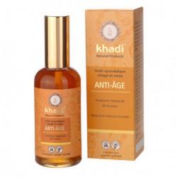 Khadi Huile de soin Anti-Age 100 ml huile raffermissante les copines