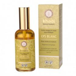 Huile de soin Lys blanc-Flacon pompe 100 ml