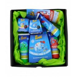 Coffret pour Enfants Sélection de produits pour le Bain Tinti-