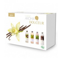 Coffret AROMA Douceur 4 produits corps 400ml-