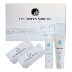 Coffret soin corps 200ml + Exfoliant corps 200ml Les Cabines Blanches