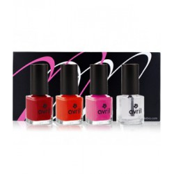 Coffret ongles Tapis rouge Avril