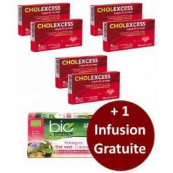 Cholexcess 6 mois de cure + 1 Infusion Bio Conseils gratuite