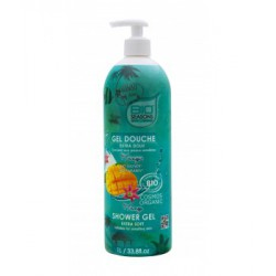 Bio Seasons Gel douche Mangue format familial 1 litre les copines bio