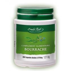 Emma Noel Huile de Bourrache bio 200 capsules dosées à 515mg (GLA)
