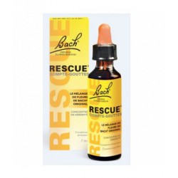 Flower Bach Remedies Rescue Compte gouttes 20ml les copines bio