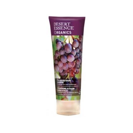 Desert essence Shampooing raisin rouge Italie hygiène les copines bio
