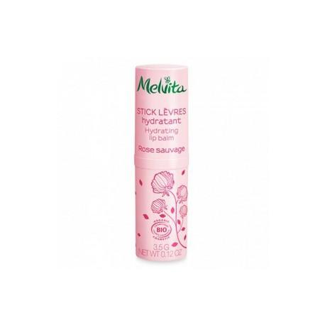 Melvita Stick levres hydratant Rose Sauvage 3.5g cosmétique les copines bio