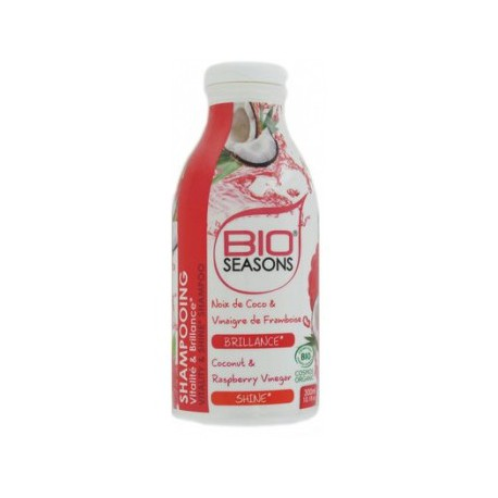 Bio Seasons Shampoing vitalite et brillance 300ml les copines bio