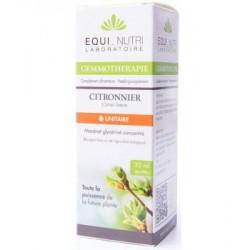 Equi Nutri Citronnier bio Flacon compte gouttes 30ml gemmotherapie